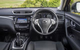 Nissan X-Trail dashboard