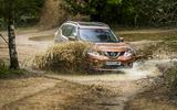 Nissan X-Trail wading