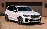 2018 BMW X5 front styling