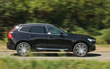 Volvo XC60 T8 side profile