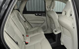 Volvo XC60 T8 rear seats