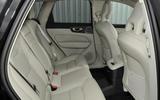 Volvo XC60 T8 rear seats