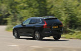 Volvo XC60 T8 rear cornering