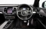 Volvo XC90 B5 AWD R-Design - steering wheel