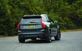 Volvo XC90 cornering - rear