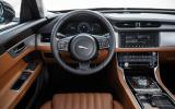 Jaguar XF S dashboard