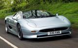 Jaguar XJ220 review