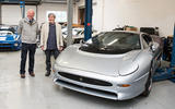 Jaguar XJ220 review