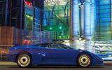 Bugatti EB110 GT side view