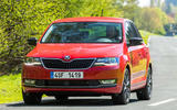 Skoda Rapid Spaceback cornering