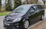 Vauxhall Zafira 2.0l VXR Turbo