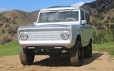 Zero Labs electric Ford Bronco - front