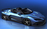 Italdesign Zerouno convertible to be displayed at Geneva motor show