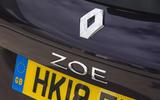 Renault Zoe badge