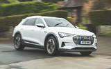 Audi E-tron 2019 long-term review - hero front