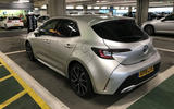 Toyota Corolla 2019 long-term review - parking