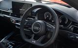 Audi S5 Sportback 2020 long-term review - dashboard