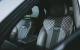10 Bentley Bentayga V8 2021 long term review front seats