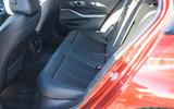 BMW 3 Series 330e 2020 long-term review - rear seats