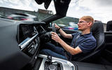 BMW Z4 2019 long-term review - James Attwood driving