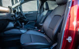 Ford Focus 2019 long-term review - front seats