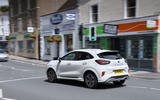 Ford Puma 2020 long-term review - town driving rear