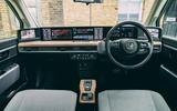 Honda e 2020 long-term review - dashboard