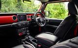 Jeep Wrangler Rubicon 2020 long-term review - cabin