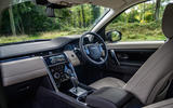 Land Rover Discovery Sport 2020 long-term review - cabin
