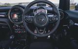 Mini 5-door Cooper S 2019 long-term review - dashboard