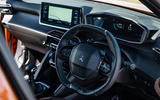 Peugeot 2008 2020 long-term review - dashboard