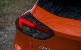Vauxhall Corsa 2020 long-term review - rear lights