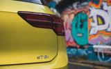 10 Volkswagen Golf 2021 long term review rear lights