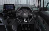 Citroen Berlingo 2019 long-term review - dashboard