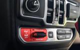 Jeep Wrangler Rubicon 2020 long-term review - centre console