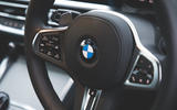 12 BMW 4 Series 2021 long term review steering wheel