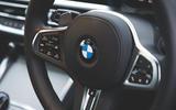 12 BMW 4 Series 2021 long term review steering wheel