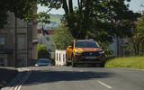 12 Dacia Sandero Stepway 2021 LT on road front