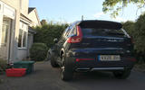 Volvo XC40 Recharge T5 2020 long-term review - home charging rear