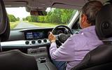 Mercedes E300de 2019 long-term review - Andrew Frankel driving