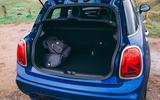 Mini 5-door Cooper S 2019 long-term review - boot