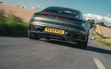Porsche 911 Carrera 2020 long-term review - on the road rear