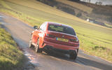 BMW 3 Series 330e 2020 long-term review - on the road rear