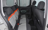 Citroen Berlingo 2019 long-term review - rear seats
