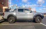 Ford Ranger Raptor 2019 long term review - car park