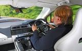 Jaguar I-Pace 2019 long-term test review - Steve Cropley driving