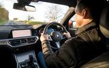 BMW 3 Series 330e 2020 long-term review - Mark Tisshaw driving