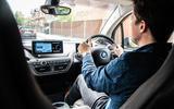 BMW i3S 2019 long-term review - Tom Morgan driving