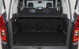 Citroen Berlingo 2019 long-term review - boot