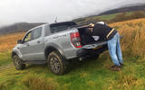 Ford Ranger Raptor 2019 long term review - tailgate opening